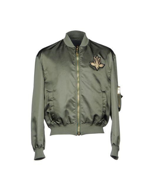 Les Hommes - Green Jacket for Men - Lyst
