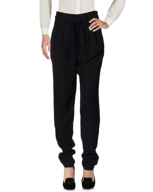 Marc By Marc Jacobs - Black Casual Pants - Lyst