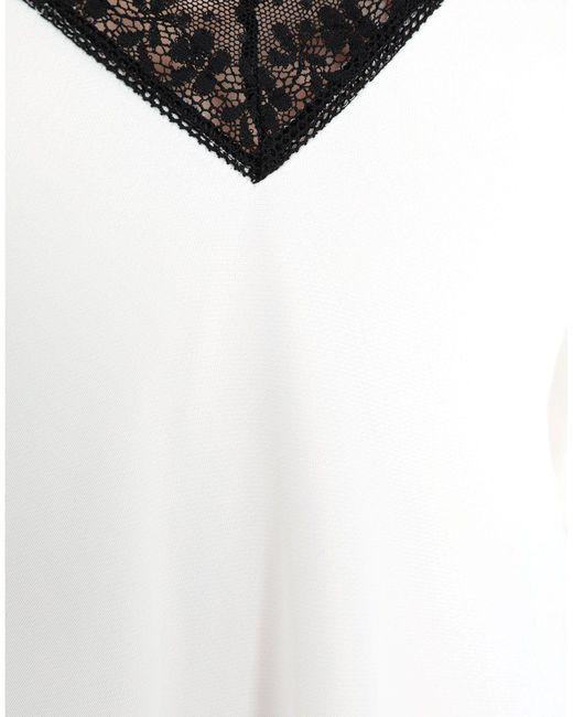 Robe longue MM6 by Maison Martin Margiela en coloris White
