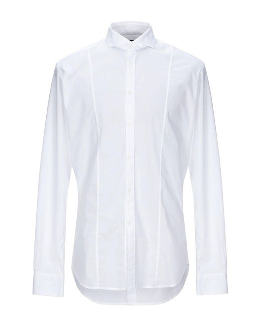 Paolo Pecora White Shirt for men