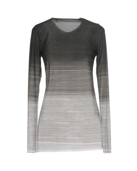 Norma Kamali Gray T-shirt