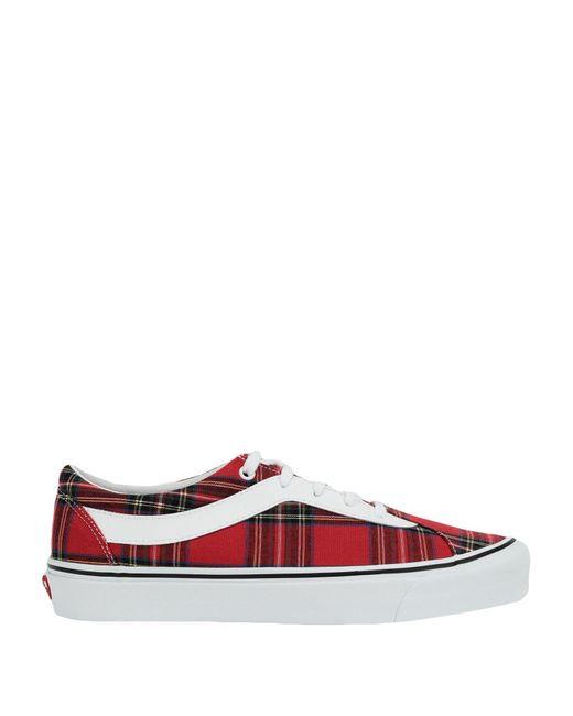 Vans Sneakers & Deportivas de hombre de color rojo
