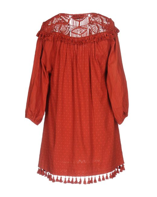 Rachel Zoe Red Short Dress