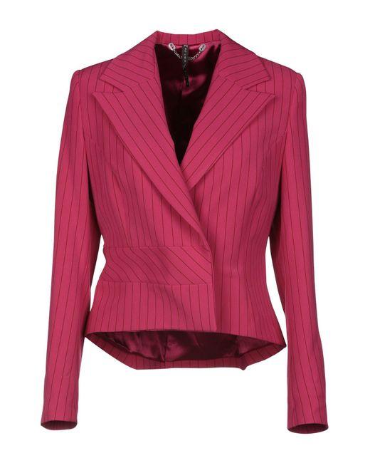 Manila Grace Pink Suit Jacket