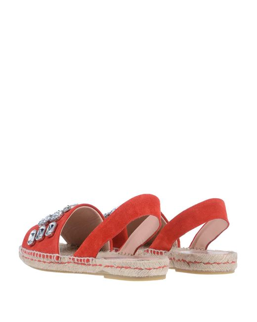 Pollini Red Sandale