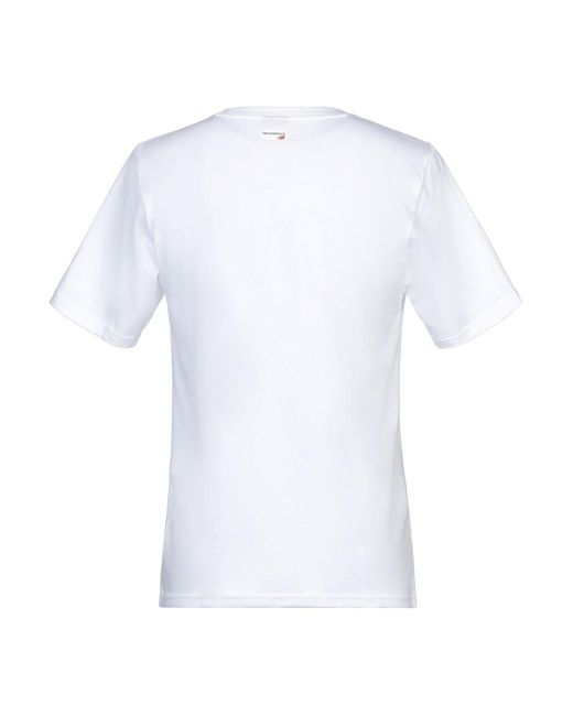 Camiseta New Balance de hombre de color White