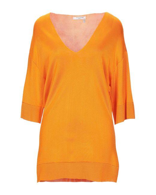 Lanvin Orange Jumper
