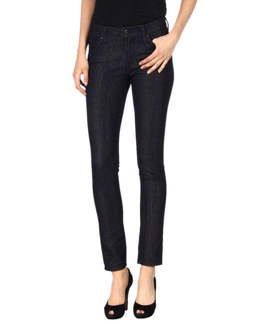 James Jeans - Black Denim Pants - Lyst