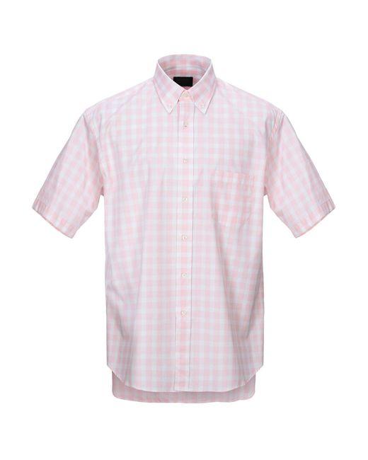 Camicia di Mirto in Pink da Uomo