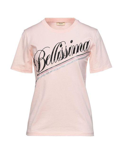 Liu Jo Pink T-shirt