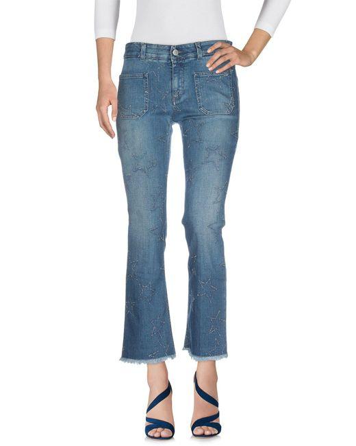 Stella McCartney Blue Jeanshose