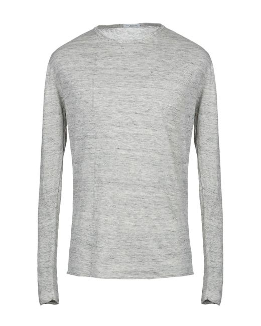 Pullover di Paolo Pecora in Gray da Uomo