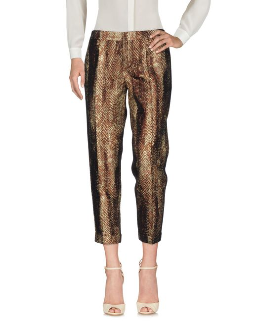DSquared² Pantalones de mujer de color marrón