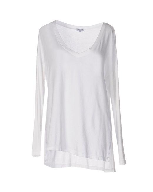Splendid - White T-shirt - Lyst