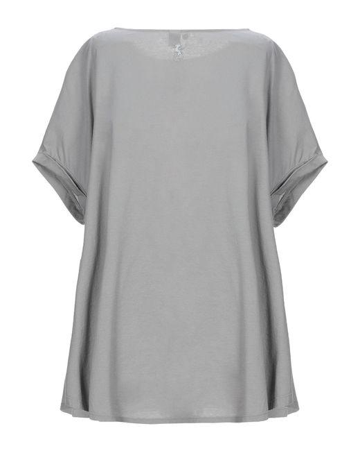 European Culture T-shirt da donna di colore grigio