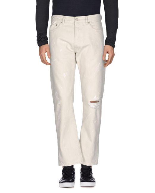 Covert White Denim Pants for men