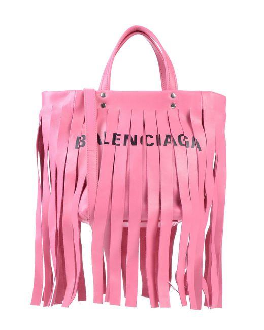 Balenciaga - Pink Handbag - Lyst