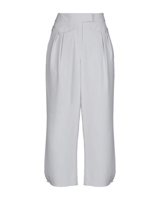 Emporio Armani - Gray Casual Trouser - Lyst