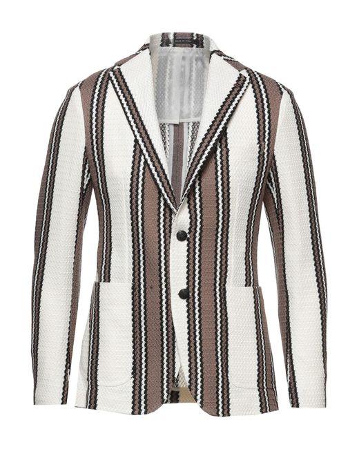 Tagliatore Brown Suit Jacket for men