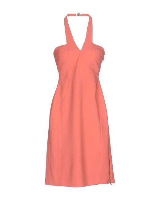 Antonio Berardi Pink Knee-length Dress