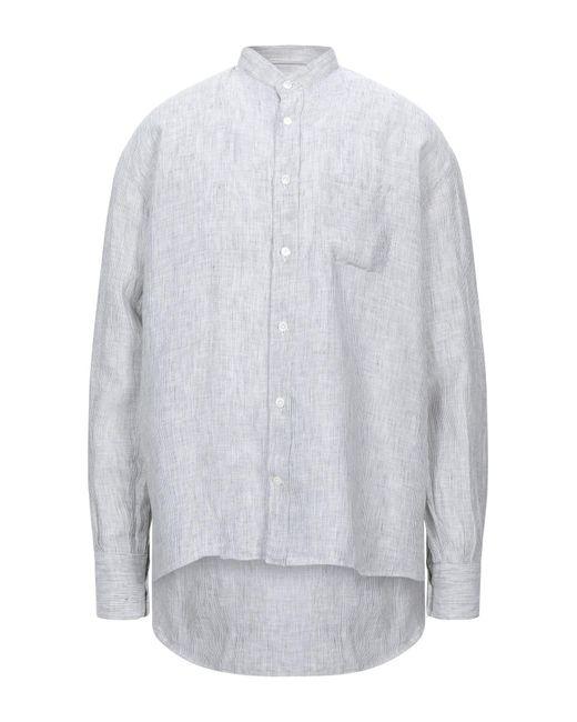 Eleventy Camicia da uomo di colore grigio
