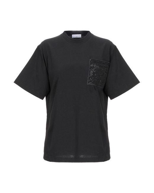 ih nom uh nit T-shirt da donna di colore nero