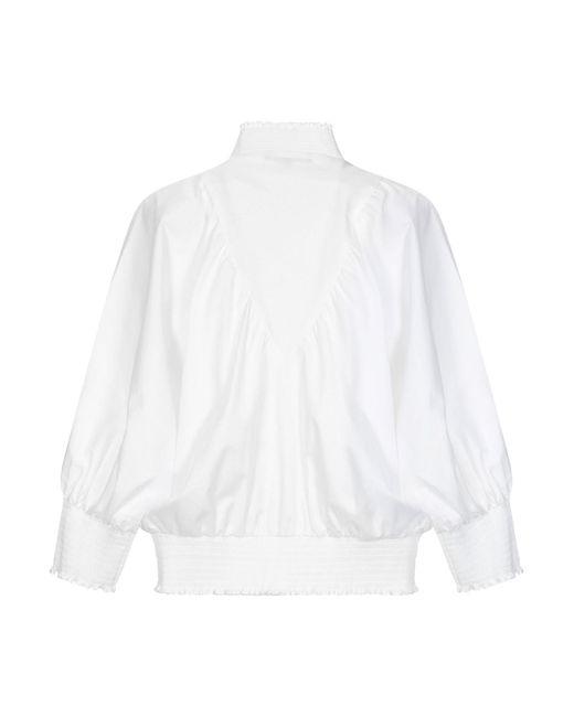 Maje Blusa de mujer de color blanco rBqZN