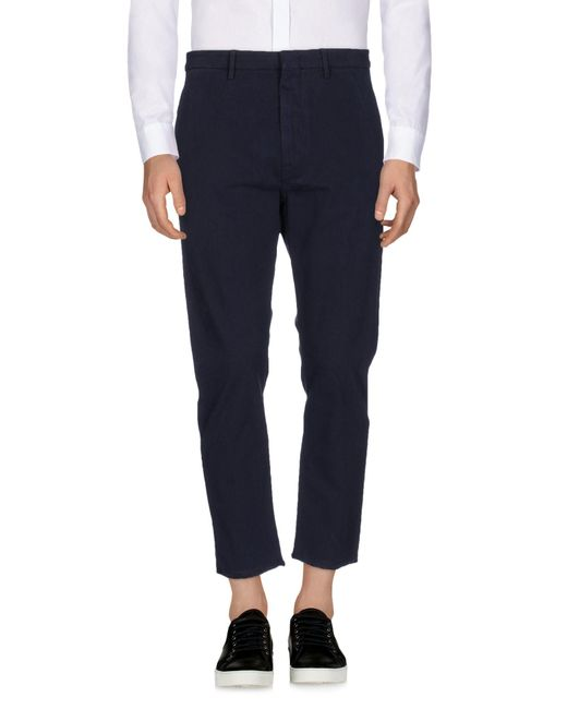 Pence - Blue Casual Pants for Men - Lyst