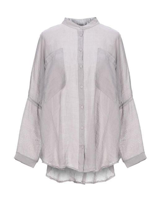 Camisa European Culture de color Gray