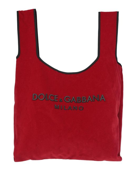 Dolce & Gabbana Red Handbag