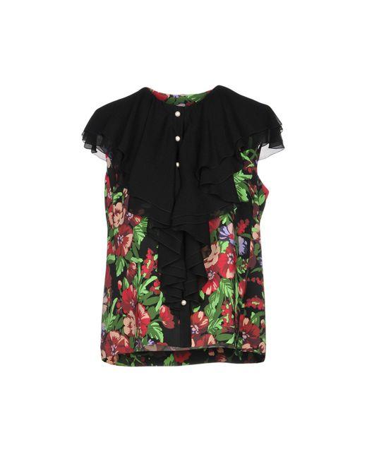 BROGNANO - Black Shirt - Lyst