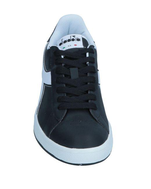 Diadora Black Low-tops & Sneakers for men