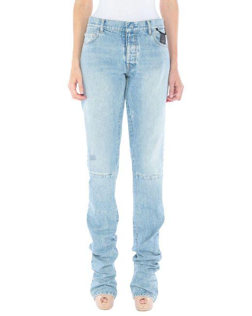 Pantaloni jeans di Unravel Project in Blue