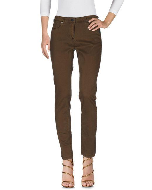 Maison Scotch - Blue Denim Trousers - Lyst