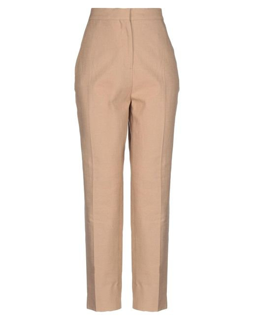 Pantalones Burberry de color Natural