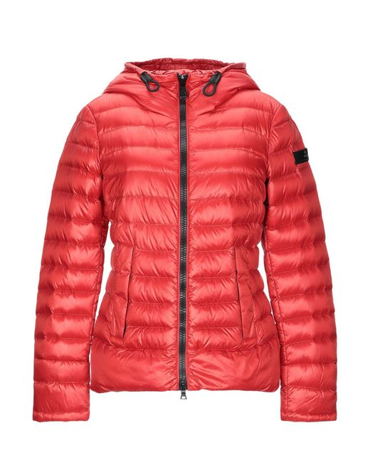 Peuterey Red Down Jacket