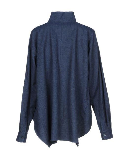 Xacus Blue Hemd