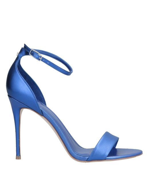 Guess Sandalias de mujer de color azul