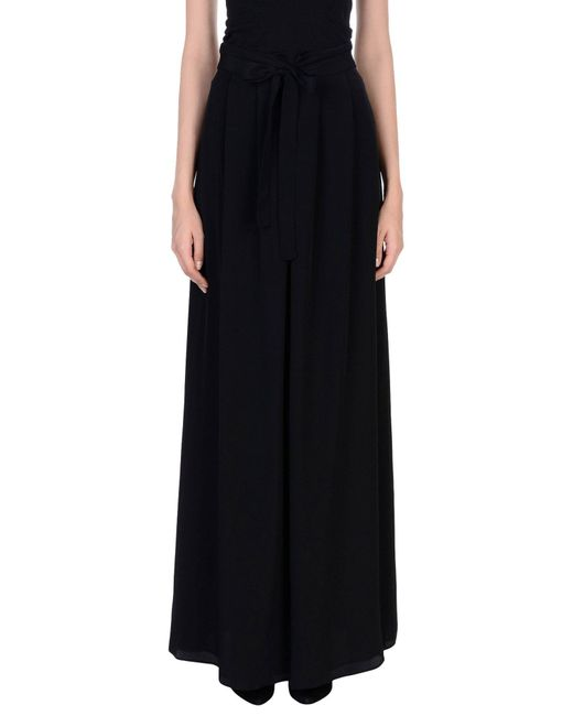 Boutique Moschino - Black Long Skirt - Lyst