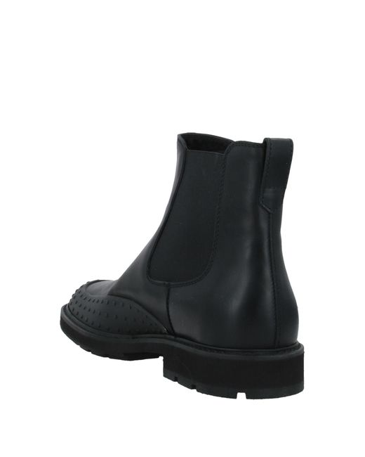 Tod's Black Ankle Boots for men