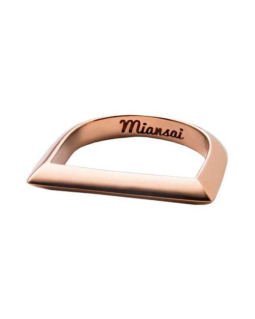 Miansai - Metallic Rings - Lyst