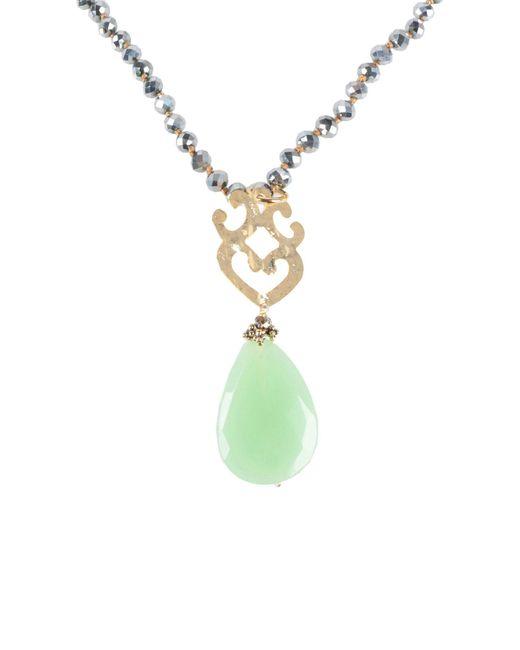 Almala Green Necklace