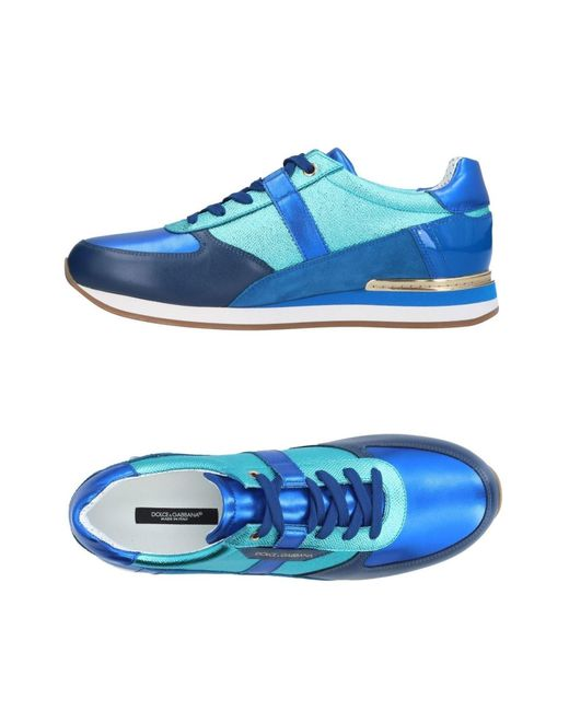 Dolce & Gabbana - Blue Low-tops & Sneakers for Men - Lyst
