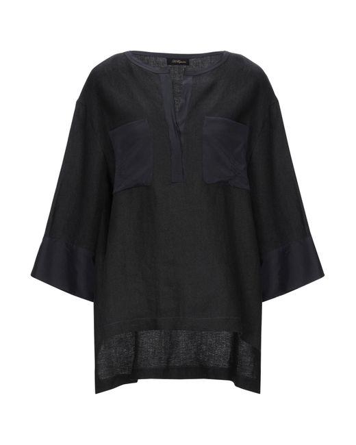 Les Copains Blusa de mujer de color negro 923Uv