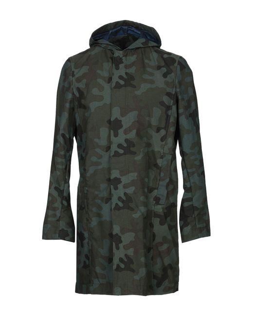 Saucony Green Overcoat for men