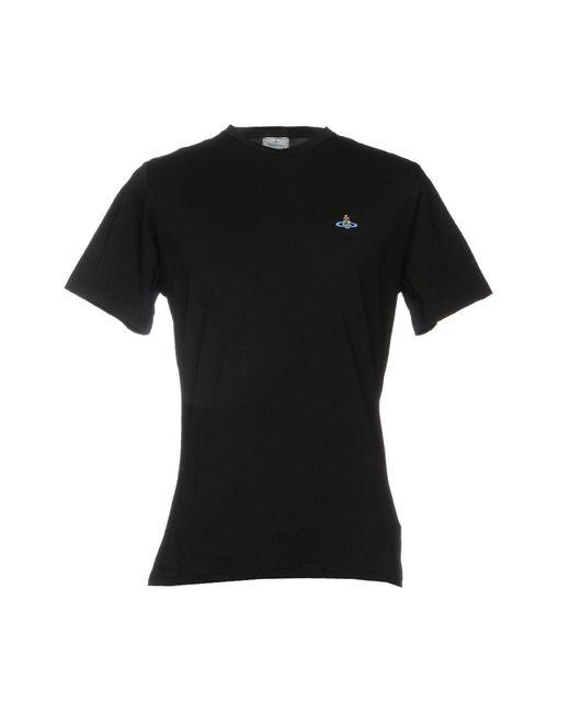 Vivienne Westwood Black T-shirt for men
