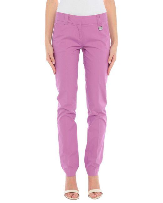 Pantalone di Massimo Rebecchi in Purple