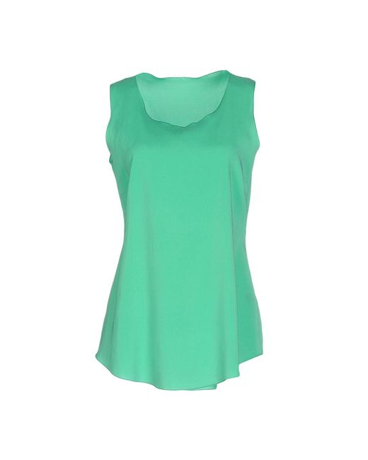 Anneclaire Green Top