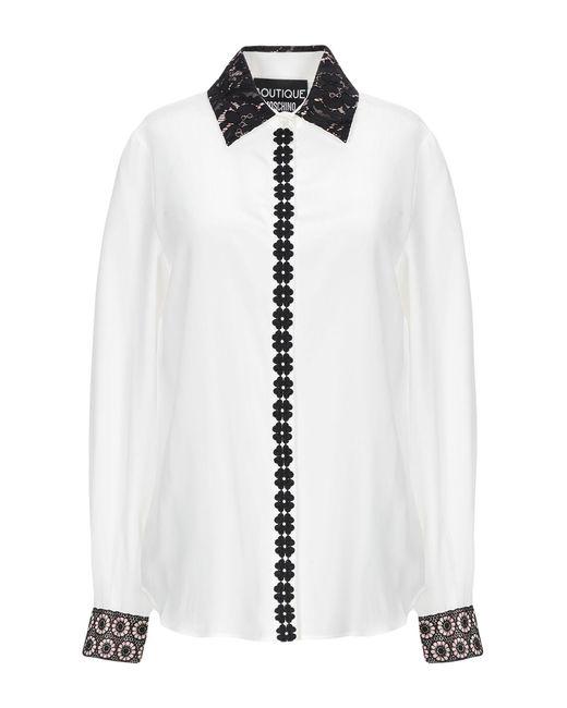 Boutique Moschino Camisa de mujer de color blanco 26bC5