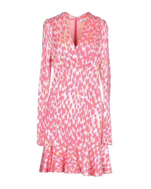 Issa Pink Short Dress